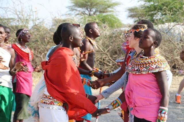 Safari en África: tribu Zamburu