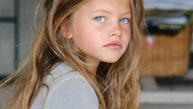 Así es ahora Thylane Blondeau, la niña más guapa del mundo