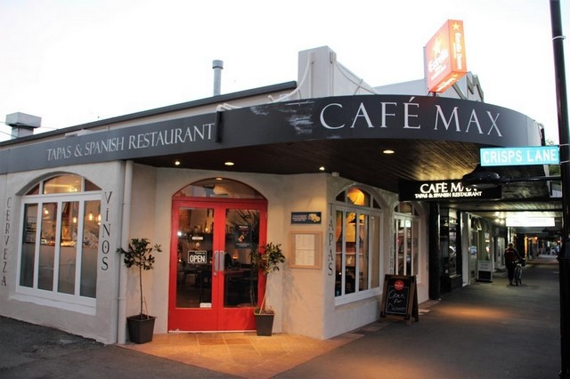 Cafe Max, Nelson Nueva Zelanda