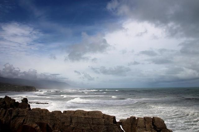 Luna de miel Nueva Zelanda: viajando en coche mar