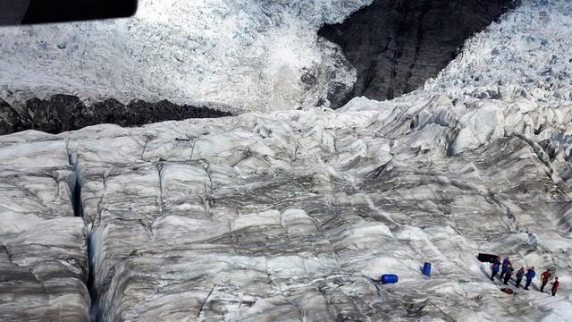 Franz Josef glacier helicoptero vistas