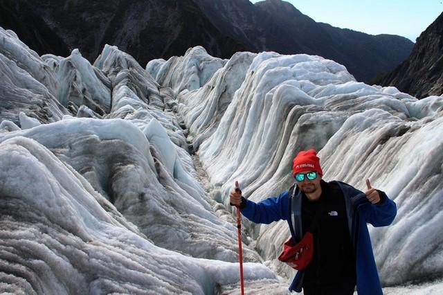 Que hace en Nueva Zelanda: Franz Josef glacier Dani
