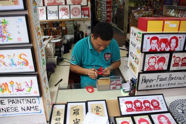 Que ver en Singapur Souvenir Chinatown