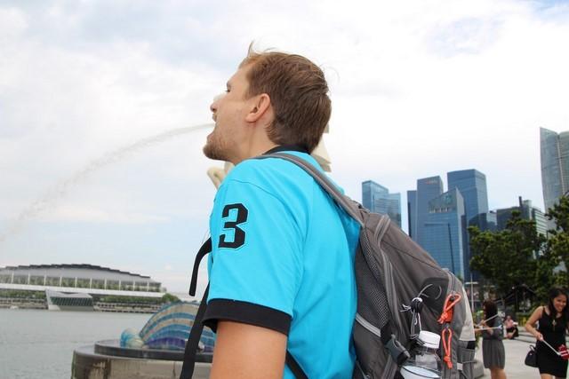 Que ver en Singapur Merlion foto