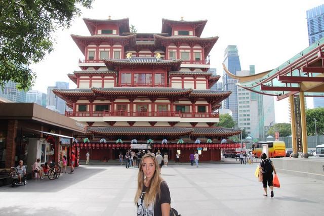 Que ver en Singapur Templo Diente de Buda