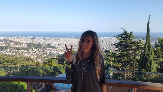 Tibidabo Barcelona: vistas de la ciudad