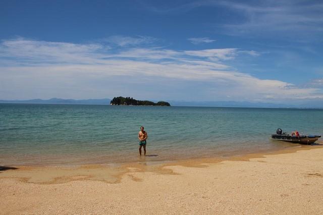 Playa Abel Tasman Nueva Zelanda 2