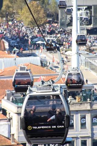 Qué ver en Oporto: teleférico de Gaia