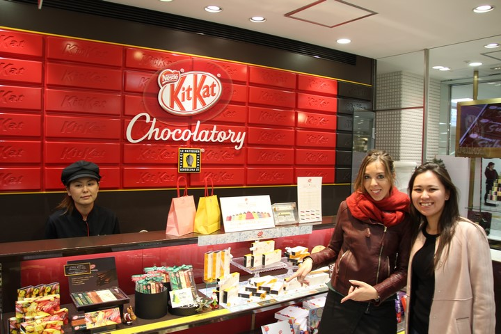 Viaje a Japón Kit Kat Chocolatery