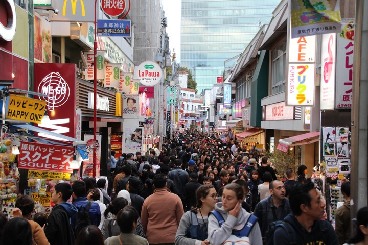 Que ver en Japon: ruta Tokio Takeshita