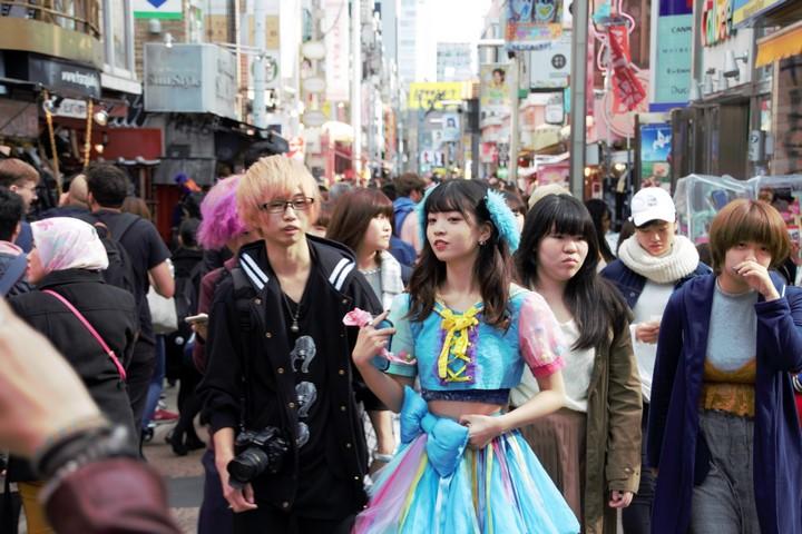Que ver en Japon: ruta Tokio gente