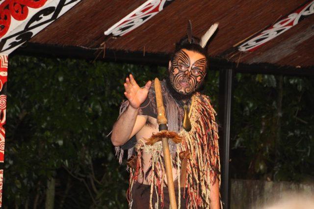 Tamaki jefe de la tribu