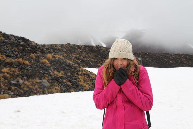 Tongariro Alpine Crossing Judit Nueva Zelanda
