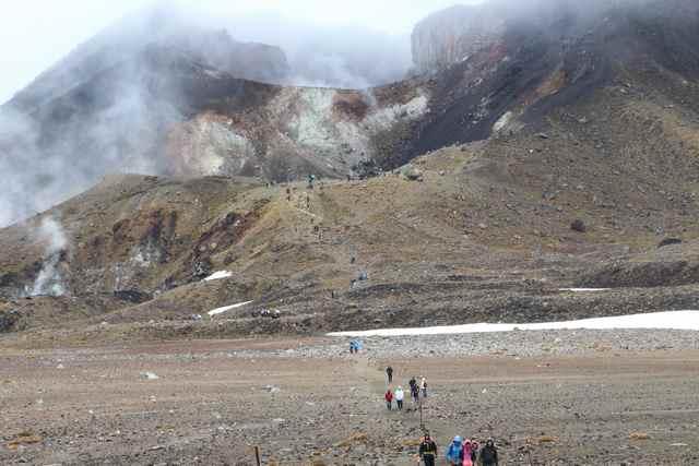 Luna de miel Nueva Zelanda Tongariro alpine crossing