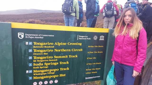 Inicio Tongariro Alpine Crossing