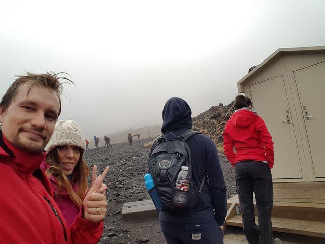 Tongariro Alpine Crossing Soda Springs