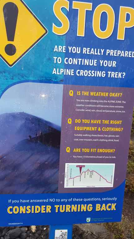 Tongariro Alpine Crossing Nueva Zelanda Cartel preguntas