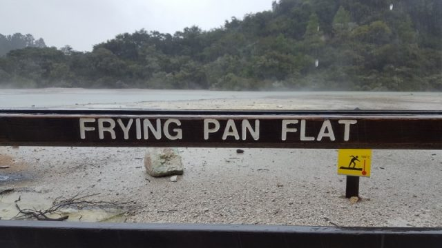 Wai-O-Tapu Fryng Pan Flat