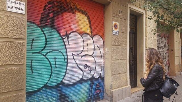 Grafiti Jon Snow