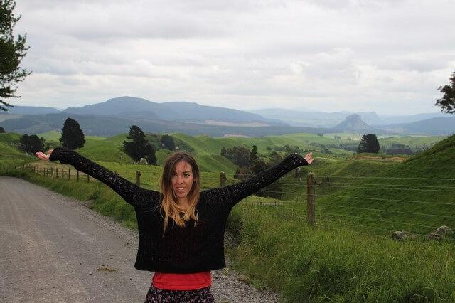 Camino a Rotorua, luna de miel Nueva Zelanda