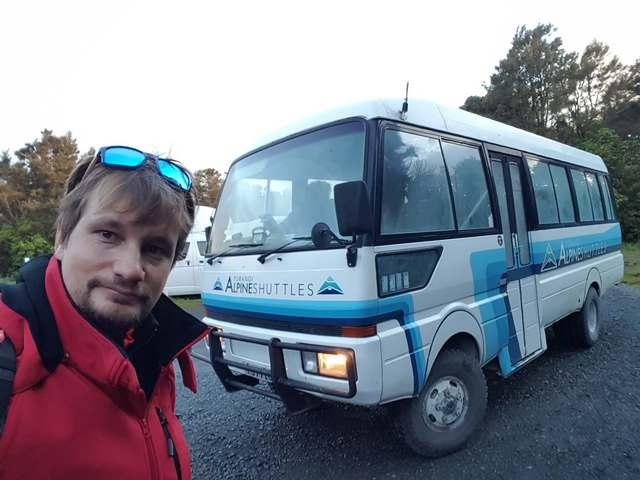Turangi Alpine Shuttles, Tonagariro Nueva Zelanda
