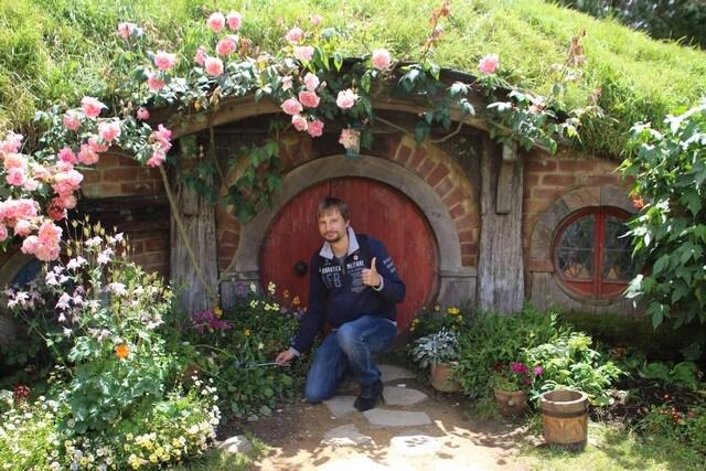 Casa en Hobbiton Nueva Zelanda