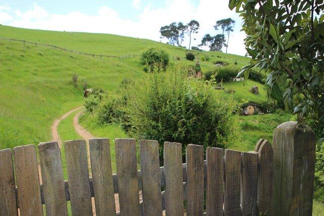 Viaje a Nueva Zelanda: Hobbiton estrada en la comarca