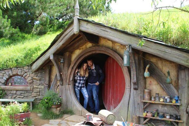 Viaje novios Nueva Zelanda Hobbiton