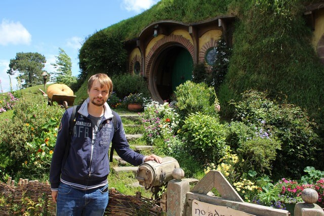 Hobbiton en casa de Bilbo y Frodo