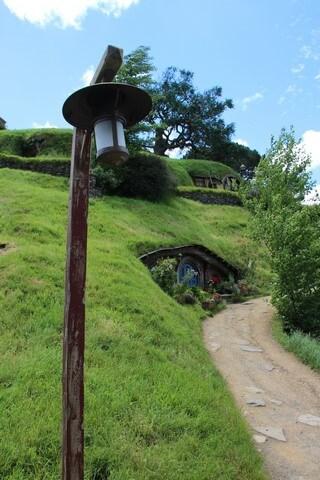 Detalles de la comarca Hobbiton Nueva Zelanda