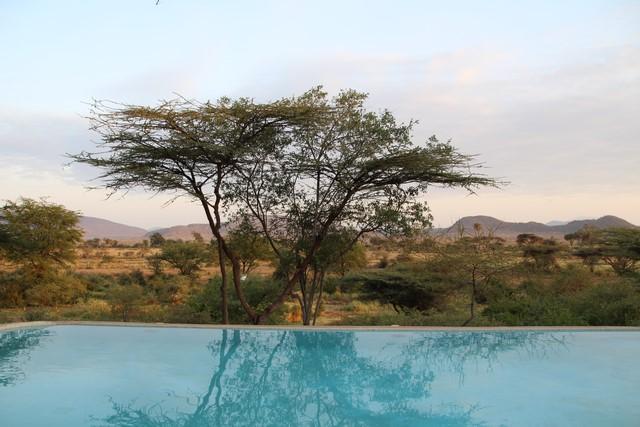 Samburu Simba Lodge piscina