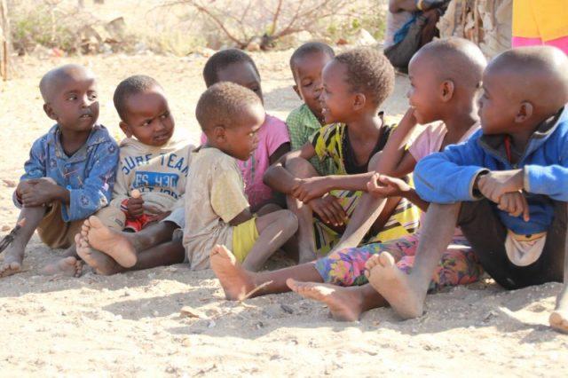 Safari Kenya: niños tribu Samburu