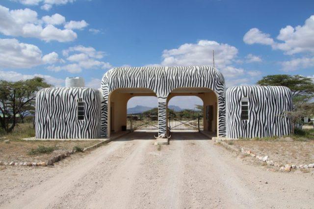 Safari Kenya: entrada reserva Samburu