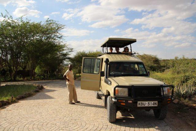 Safari Kenya: Samburu nuestro coche