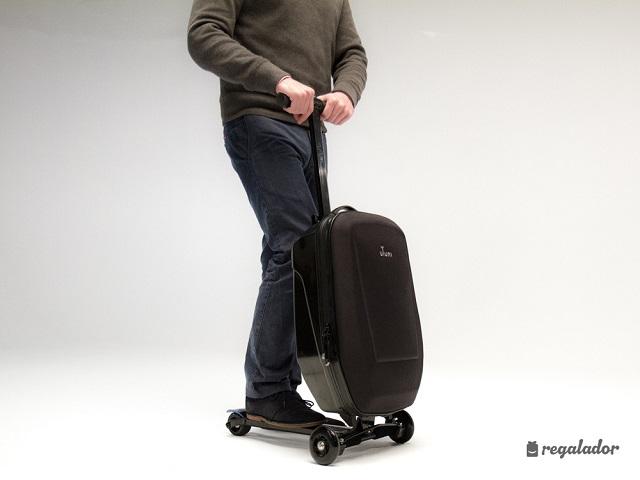 Uyuni, la maleta que se convierte en patinete