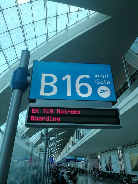 Escala en Dubai destino Aeropuerto de Nairobi