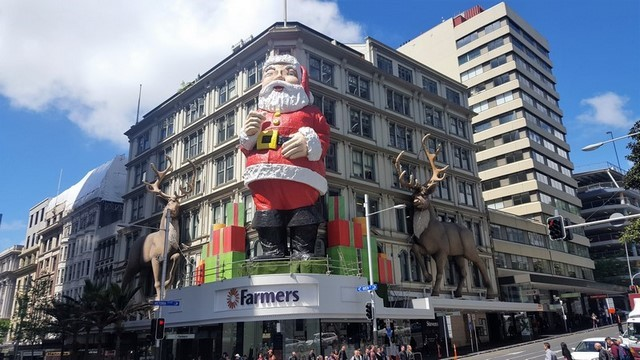 Auckland City: calle Queens