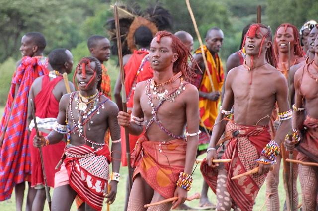 Safari en Kenia: Tribu Masái