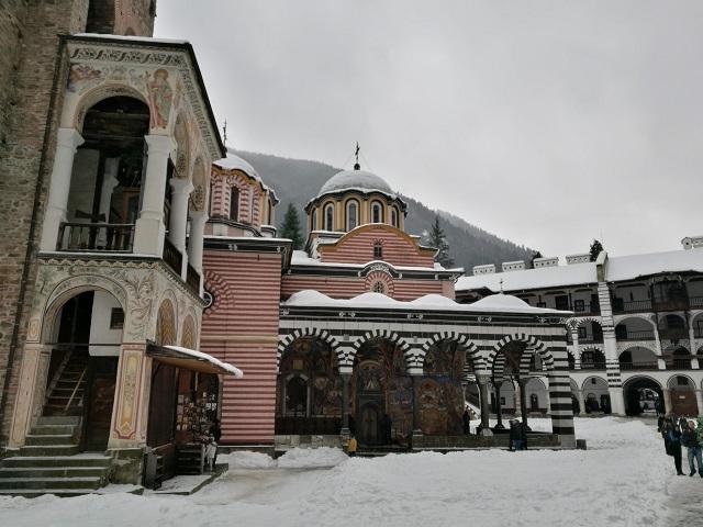 Interior Monasterio Rila