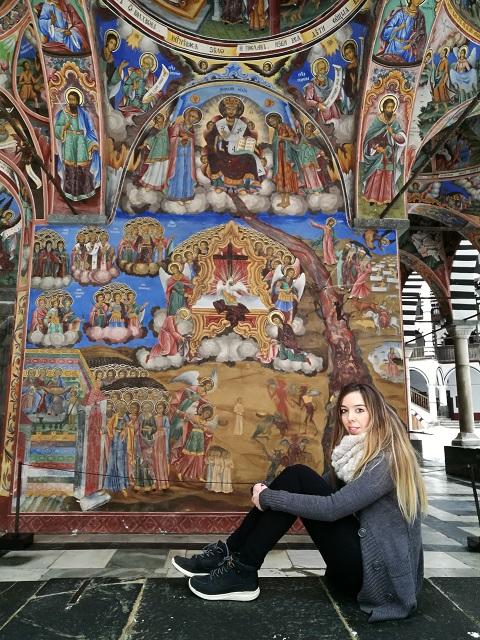 Pinturas Monasterio de Rila