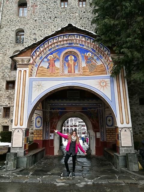 Puerta Monasterio de Rila