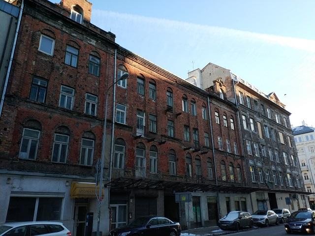 Barrio de Praga, el que mejor sobrevivió a la guerra