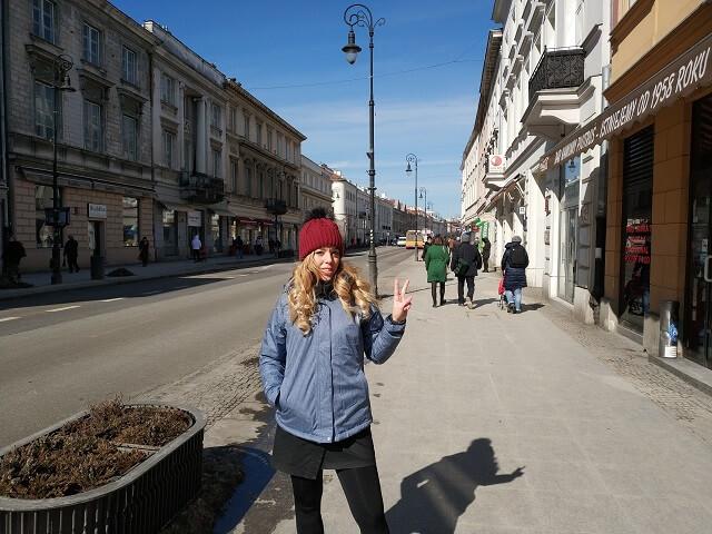 Callejeamos por Krakowskie Przedmiescie