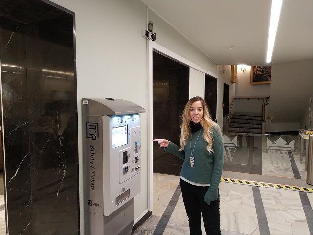Máquinas compra de entradas Palacio Wilanow