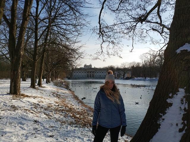 Palacio de la Isla en el Parque Lazienki
