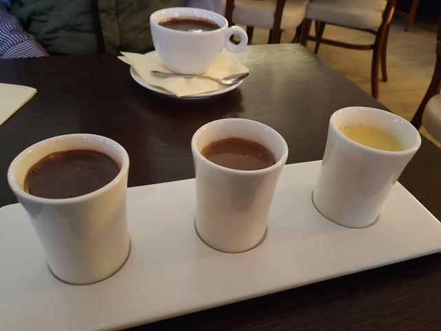 Trio de chocolates Wedel Varsovia