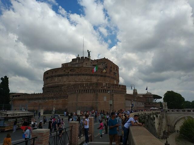 Roma en 3 días, Castillo de Sant'Angelo