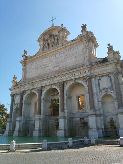 Roma en 3 días, Fontana dell'Acqua Paola