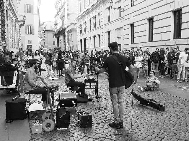 3 días en Roma. Música callejera