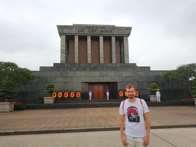 Mausoleo de Ho Chi Minh en Hanoi
